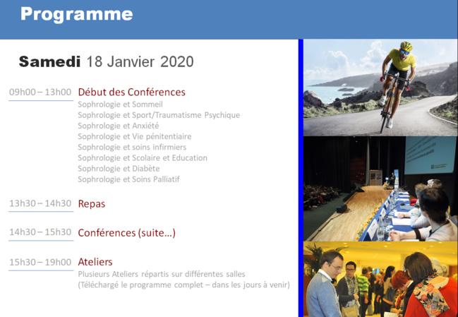 1ières Journées Mondiales de Sophrologie en Guadeloupe 17-19 Janvier 2020 - Créole Beach Hôtel (Le Gosier)
