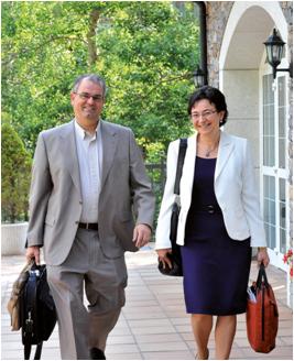 Natalia Caycedo et Koen Van Rangelrooij : Représenants de Sofrocay International